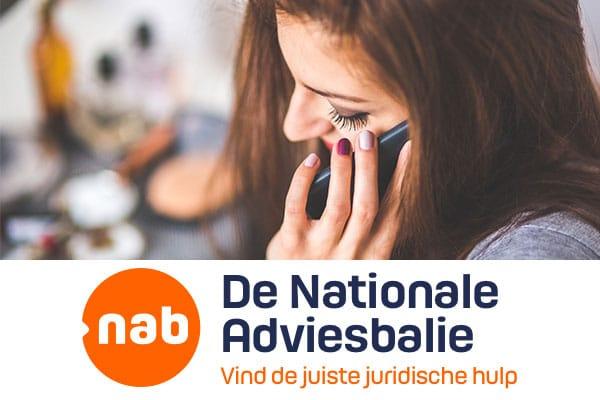 Nationale adviesbalie voor al je juridische hulp
